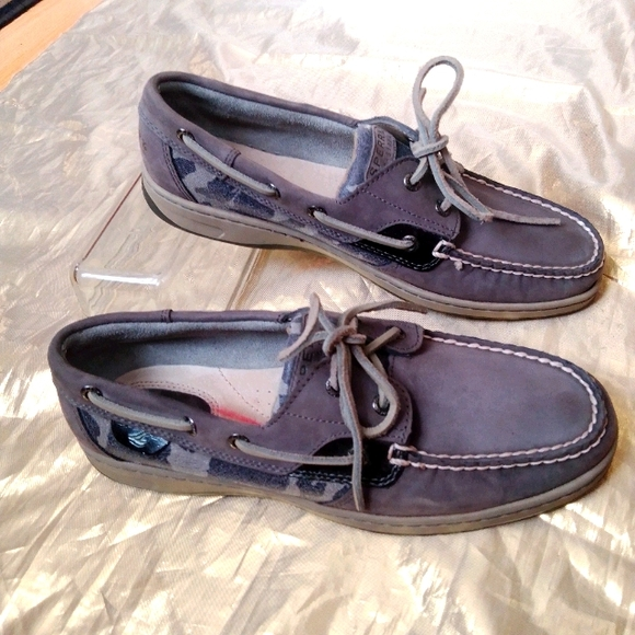 Sperry top sider women's leather flats size 9.5